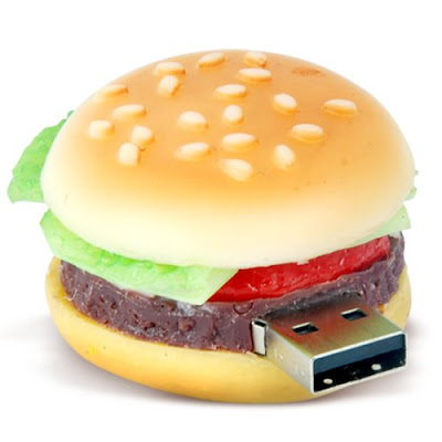 8GB Hamburger Flash Memory Drive