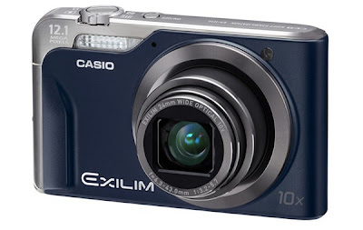 Casio Exilim EX-H10 Is Given a Bath of New Colors