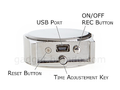 Tiny Spy Camcorder Clock with Up To 4GB Memory