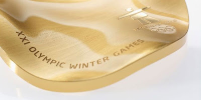 The Medals of the Olympic Winter 2010 Are Made of Recycled Base Plates
