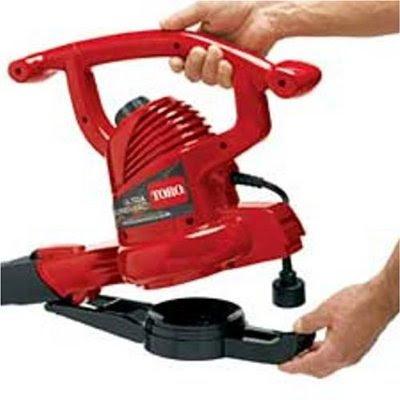Toro Ultra 3-in-1 Blower, Vacuum, and Leaf Shredder For Clearer