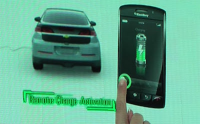 Chevy Volt To Enable iPhone, BlackBerry Applications