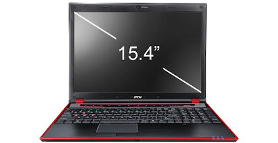 MSI GT640 - The Best Gaming Netbook with Core i7