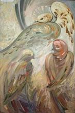 """Iulian Mîţa - """"Poveşti"""", 2002, 100x60 cm"""