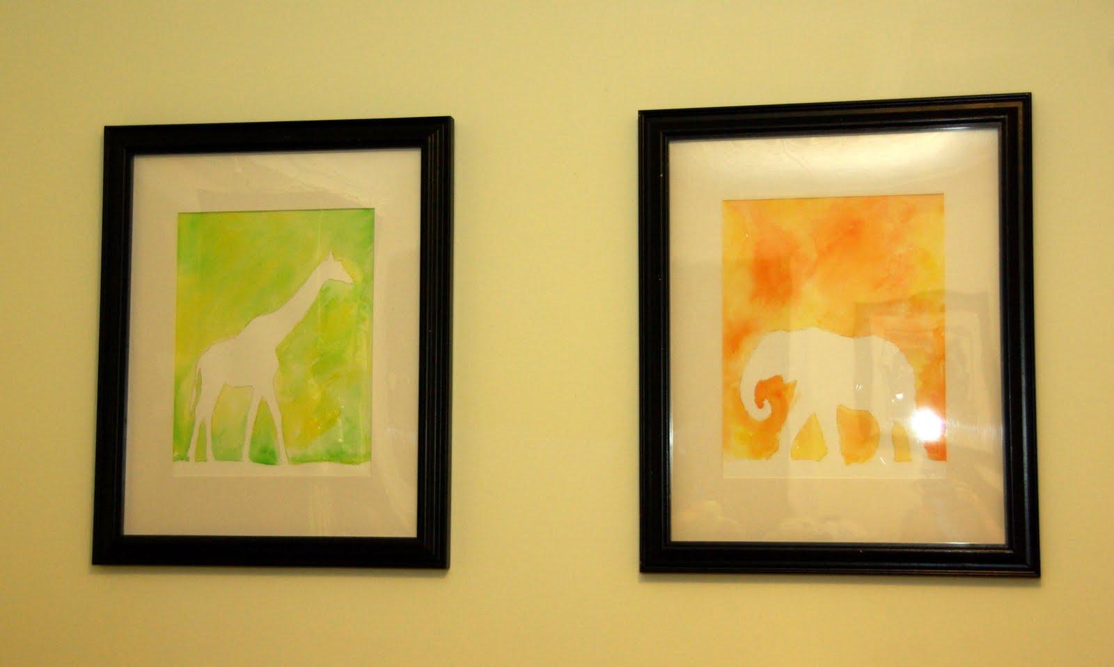 Home Sweet Tiny Apartment: Nursery Art