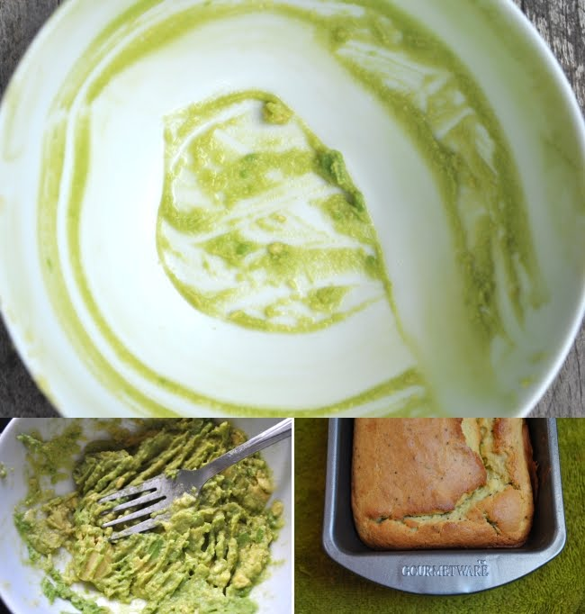 Baking Powders: Avocado poppy seed pound cake
