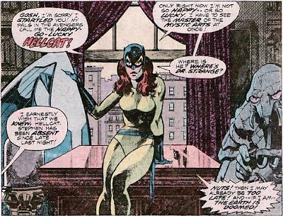 Defenders #44, Hellcat