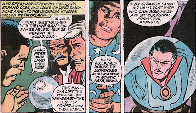 Savage Sub-Mariner #69, Sub-Mariner meets Spider-Man, Dr Strange