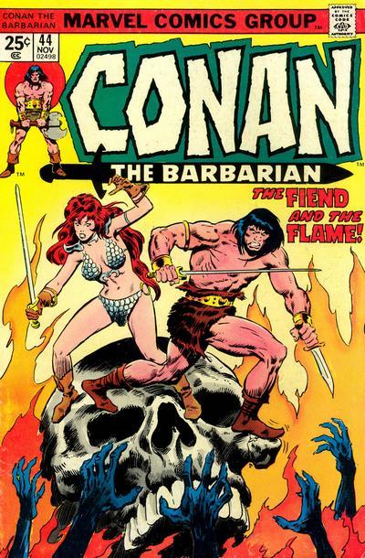 Conan the Barbarian #44, Red Sonja, John Buscema, Neal Adams, Dick Giordano