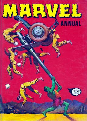 Fleetway Marvel Annual 1972/1973