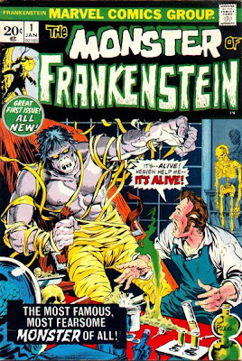 Marvel Comics Frankenstein #1