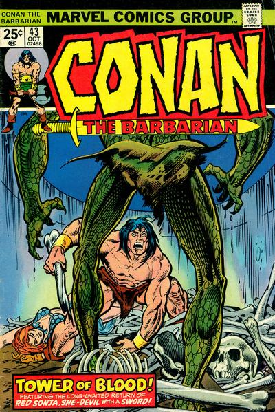 conan the barbarian. conan the arbarian comic. but