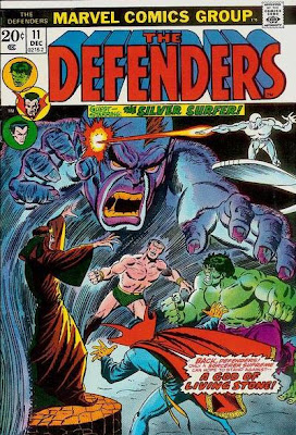 Defenders #11, gnomes and the Crusades