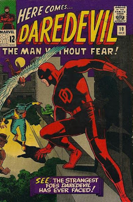 Daredevil #10, the Beast-Men, red costume