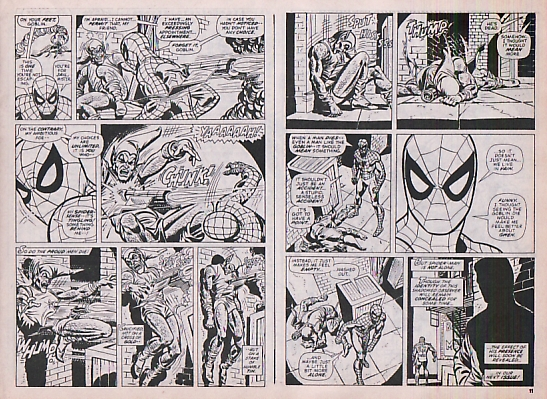 Super Spider-Man #171, the death of the Green Goblin