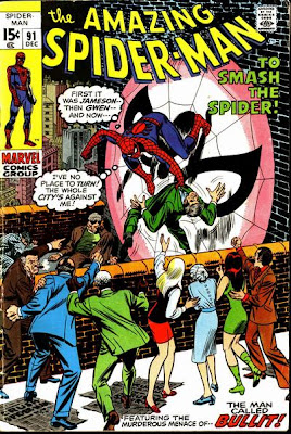 Amazing Spider-Man #91, Bullitt