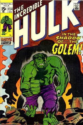Incredible Hulk #134, the Golem