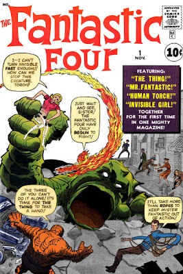Fantastic Four issue #1, Jack Kirby