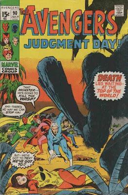 Avengers #90, the Kree-Skrull War