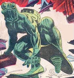 Poll results, Marvel's battling amphibians, Leap-Frog, Gene Colan