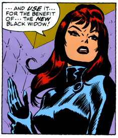 The Black Widow by John Romita. The sexiest comic book character of all time?