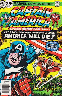 Captain America #200, Jack Kirby