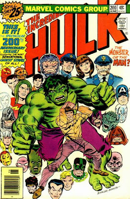 Incredible Hulk #200, Glenn Talbot's brain