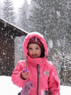 Eitjes in de sneeuw