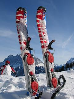 Zicht op de Zugspitze, vanaf de Wolfratshauserhutte