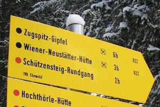 Wandelen in de Zugspitzarena