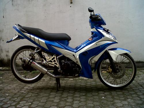 Modifikasi Jupiter Mx Drag Style
