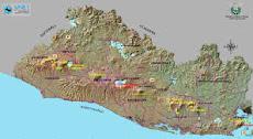 Mapa Volcanico de la SNET