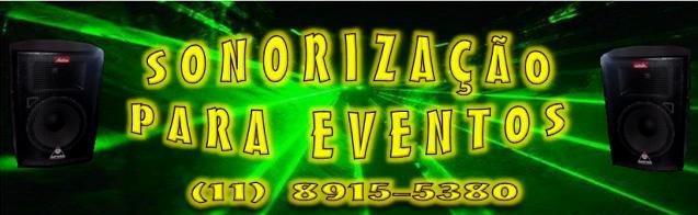 Sonorização para Eventos