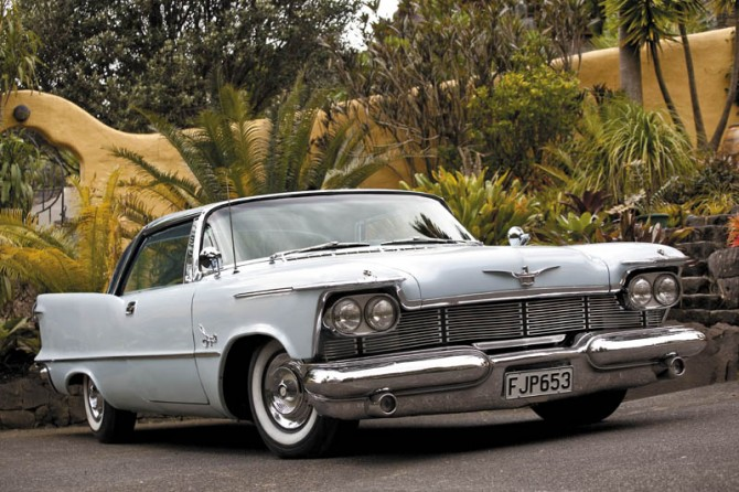 1966 Chrysler Imperial Crown Coupe. 1957 Chevrolet