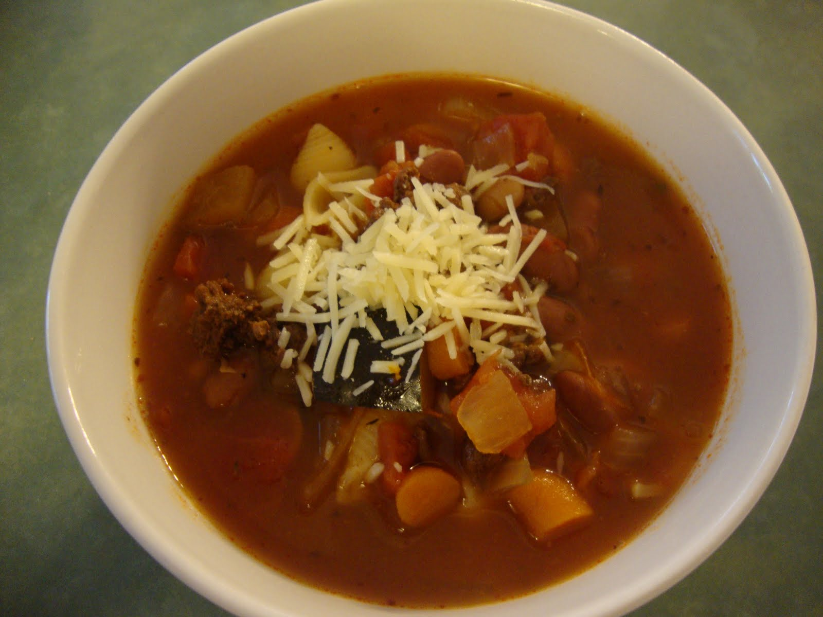 A Busy Mom\'s Slow Cooker Adventures: Pasta Fagioli