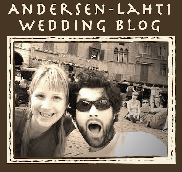 Andersen-Lahti Wedding Blog