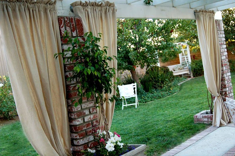 Canvas Drop Cloth Curtains Painters Drop Cloth Outdoor
