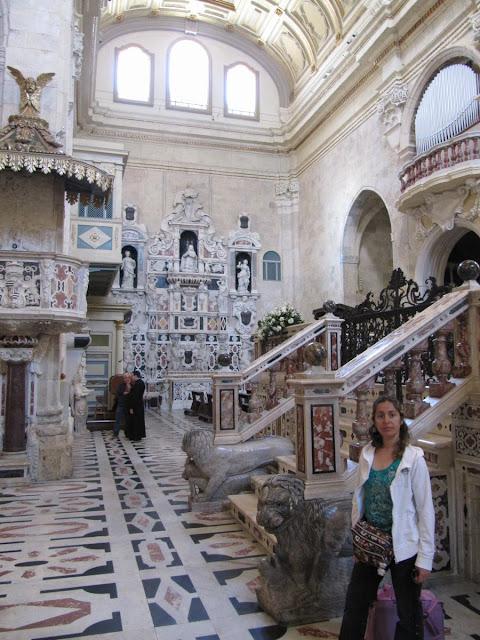 interior catedral cagliari
