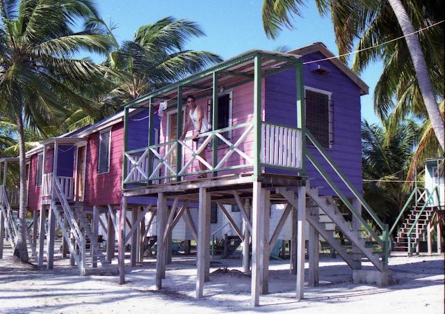 cayos de belice, belize, barrera del coral, cabañas en el paraiso