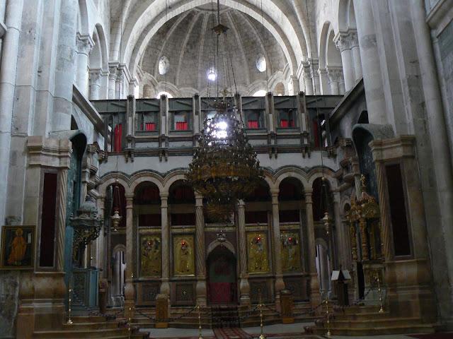tumba de cristo, santo sepulcro