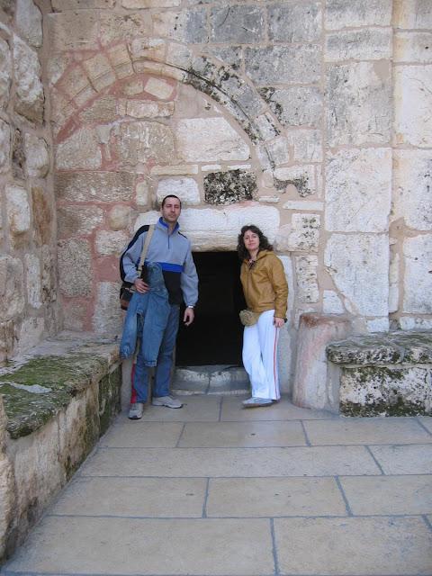 Puerta de la Humildad, iglesia de belén