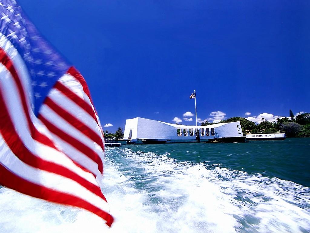 Pearl Harbor >> WALLPAPERS: AMERICAN FLAG