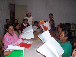 pastora MARY y la PROFESORA de Alfabetizacion