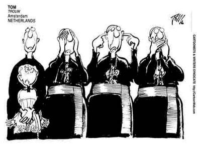 Enquanto escândalos de pedofilia envolvendo o clero abalam a Igreja ...