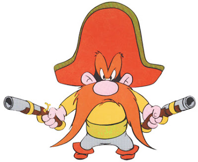 PLEASE EXCUSE YOSEMITE SAM,