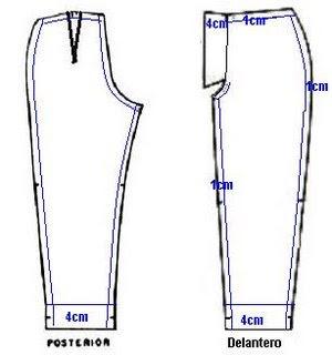Aumentos para costuras