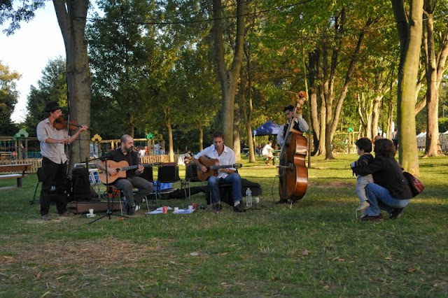Evry Daily Photo - Concert ButaJazz - Bords de Seine Evry - Journee du Patrimoine Evry