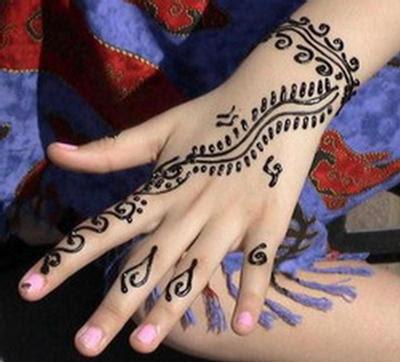 body art grade henna  see