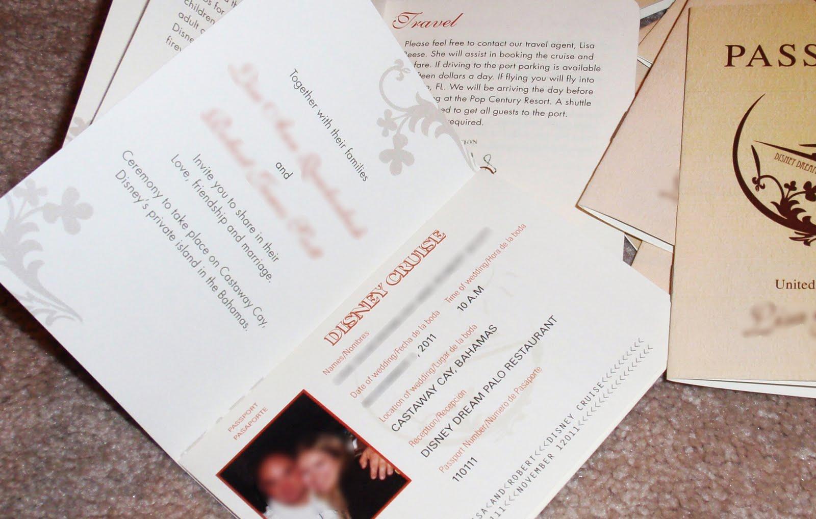 disney cruise wedding invitations - 28 images - cruise ship wedding ...
