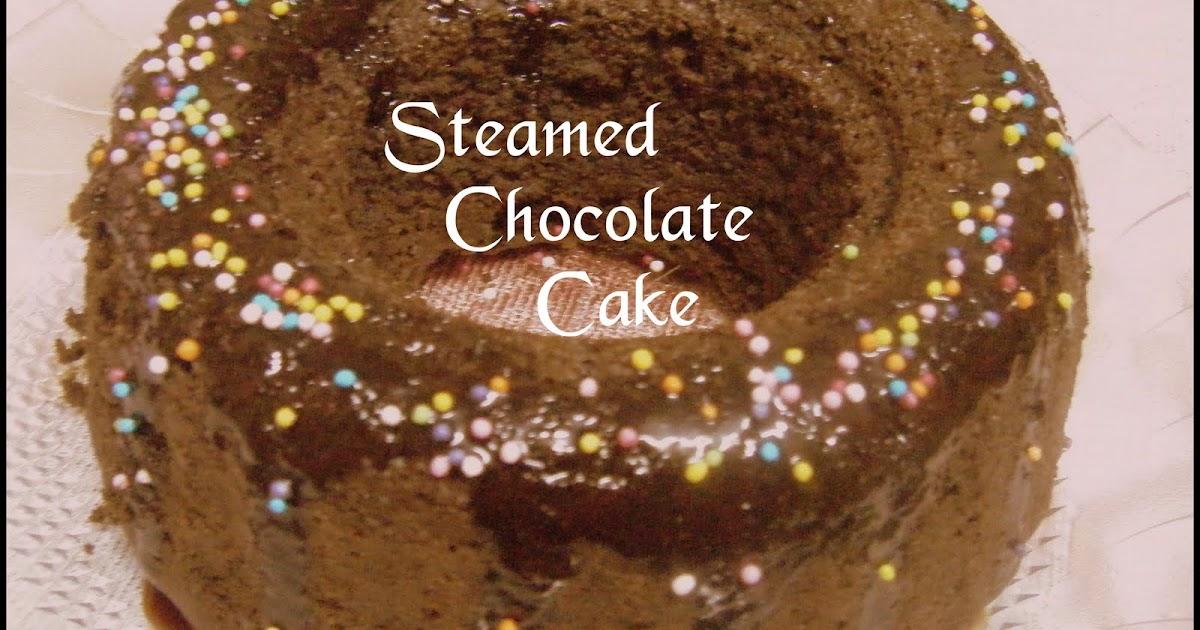 Steamed chocolate orange cake